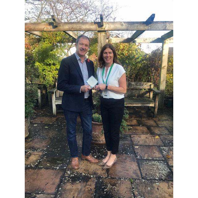 £100 Challenge Award participant