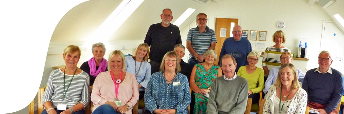 Hospice Neighbours volunteer support group