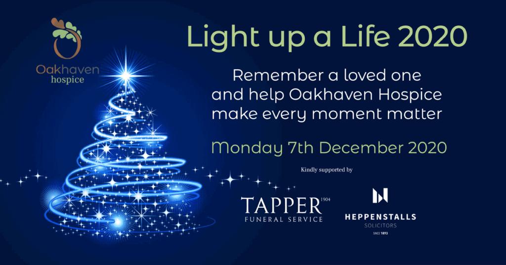 Light up a Life poster 2020