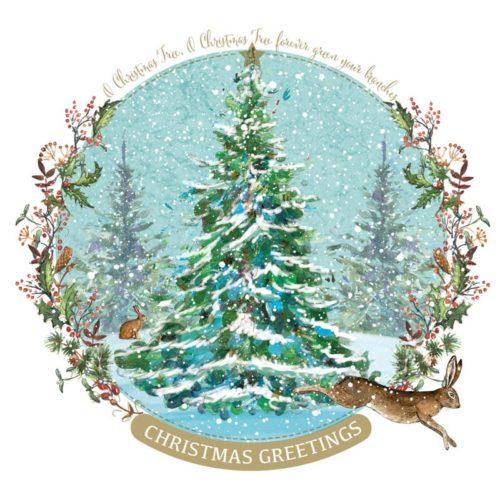 O Christmas Tree Oakhaven Hospice card