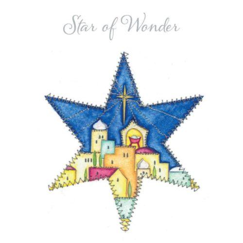 Star of Wonder Oakhaven Hospice Christmas card