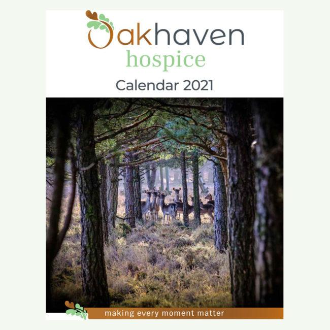 Oakhaven Hospice calendar 2021