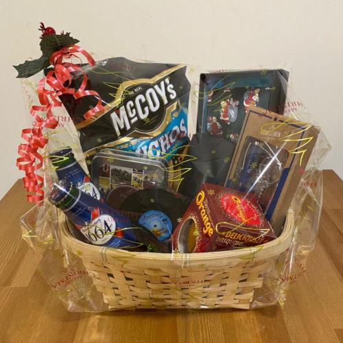 Mens hamper Oakhaven Hospice Christmas gifts