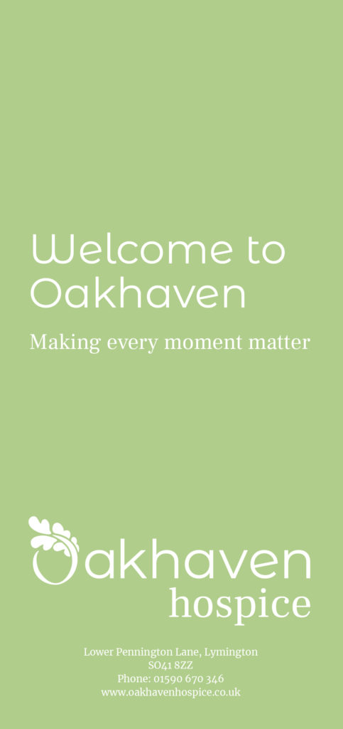 Welcome to Oakhaven Hospice