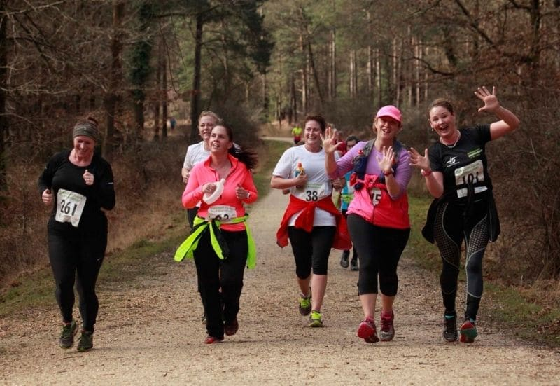 Run for Oakhaven Hospice in the New Forest