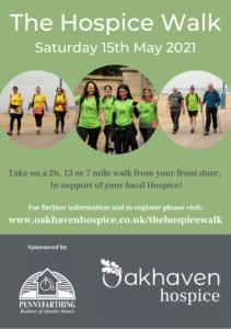 The Hospice Walk A5 Ad