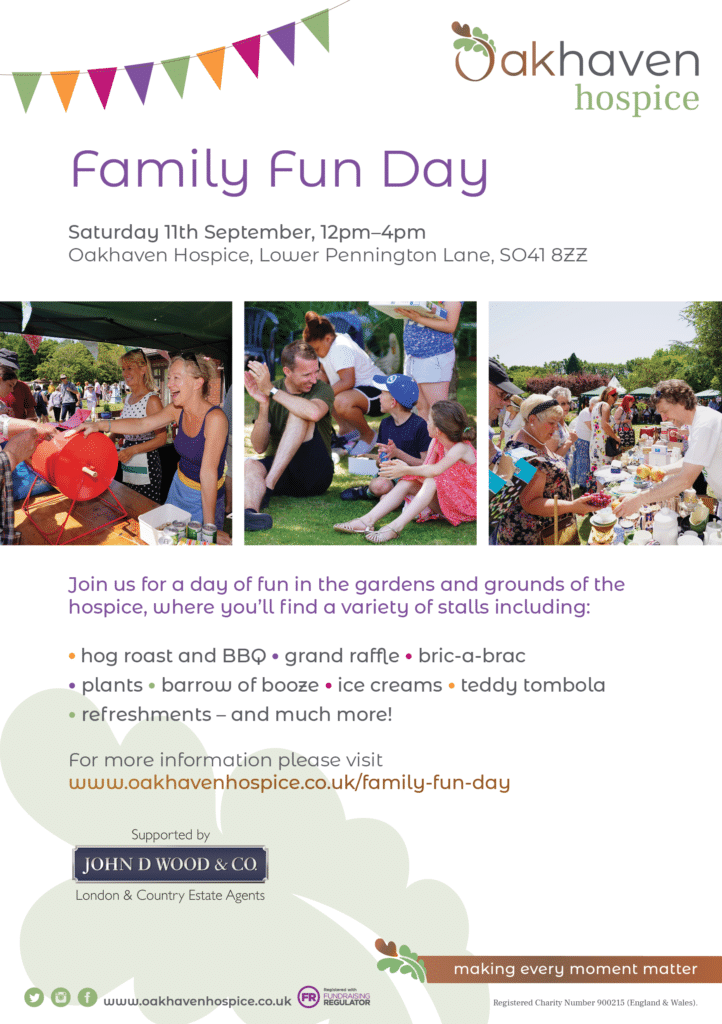 Family Fun Day - A5