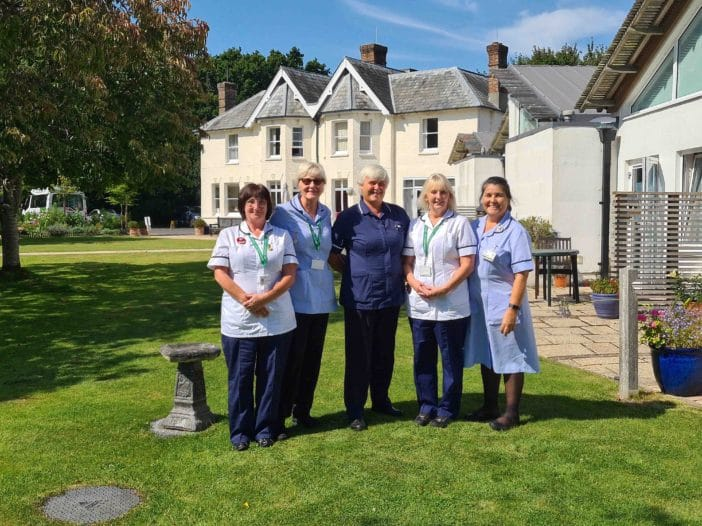 Nurses at Oakhaven Hospice